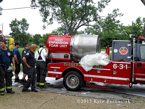 Chicago FD high expansion foam unit