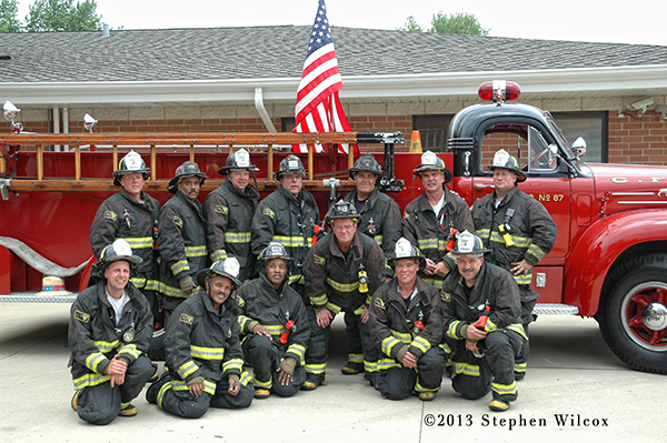 Chicago FD training class photo