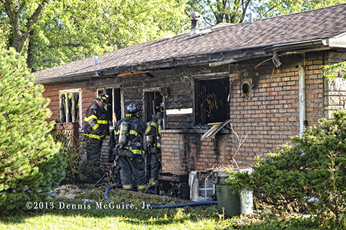 house fire in Park Forest IL
