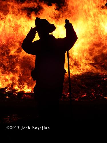 fireman silhouette
