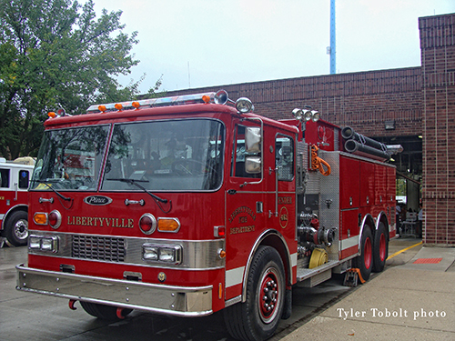 Libertyville Fire Department open house