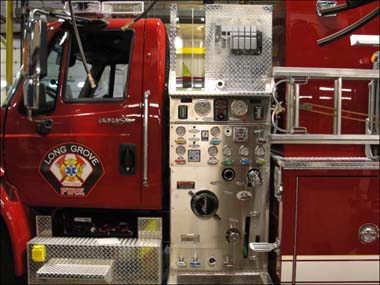 new tanker for the Long Grove Fire Protection District
