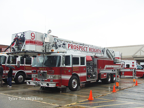 Prospect Heights Fire Protection District open house