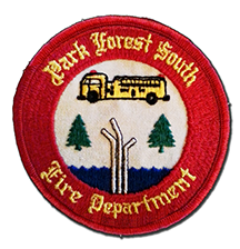 Park Forest South Fire Department patch