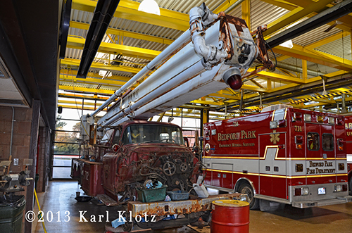fire department refurbishes 1st Snorkel ever built