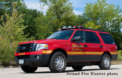 Orland Fire District  Battalion Chief unit