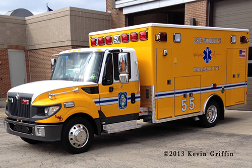 Lisle-Woodridge FPD new Medic unit 55