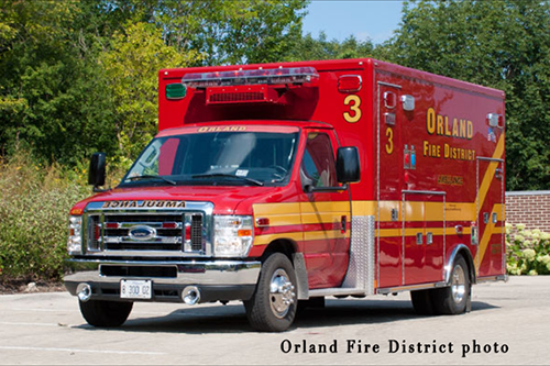 Orland Fire District ambulance