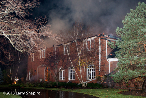 Lake Forest mansion destroyed by fire