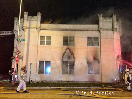 Lyons landmark destroyed by fire