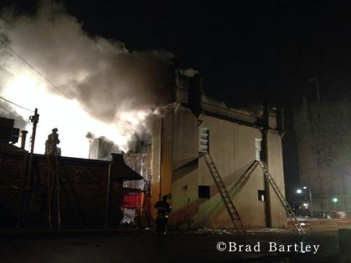 Lyons landmark destroyed by fire