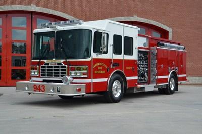 new Ferrara fire engine for the Carpentersville FPD