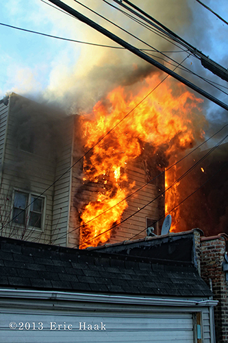 Chicago firefighters battle massive 2-11 alarm fire in apartment building