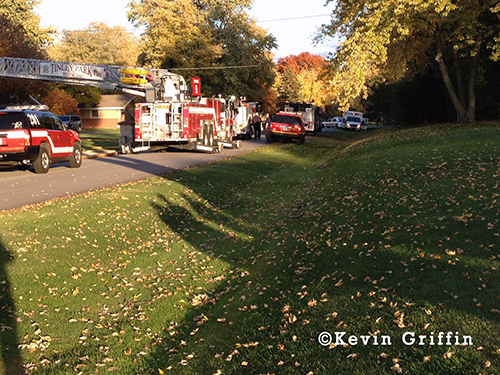 house fire in Tinley Park 11-03-13