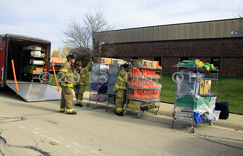 Ammonia leak leads to evacuations in Itasca.