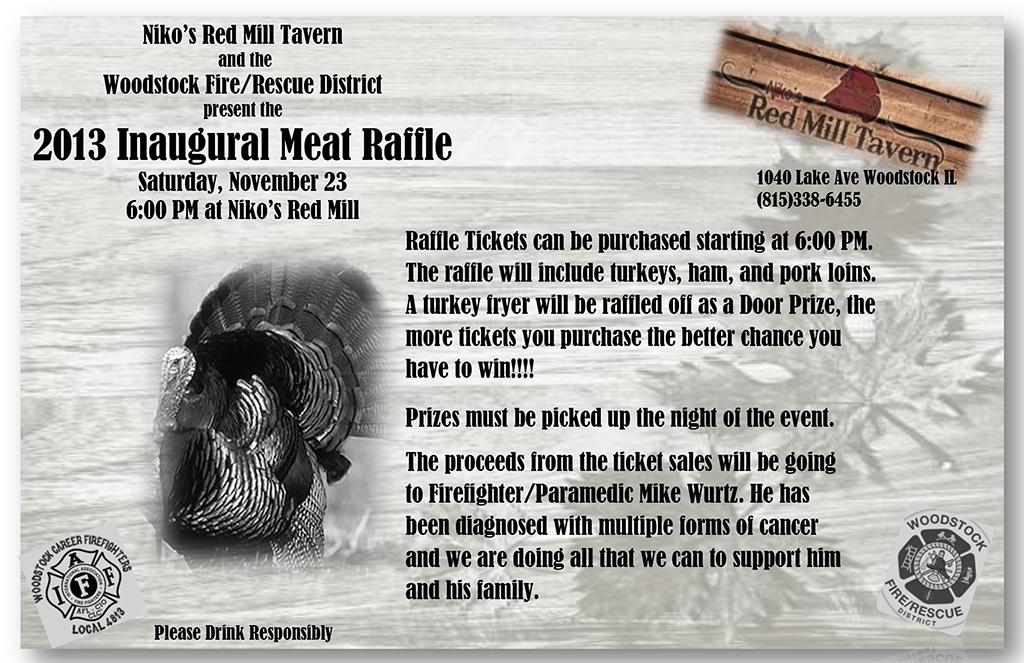 Woodstock Meat Raffle