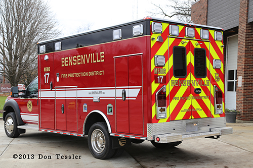 New ambulance for Bensenville Fire District