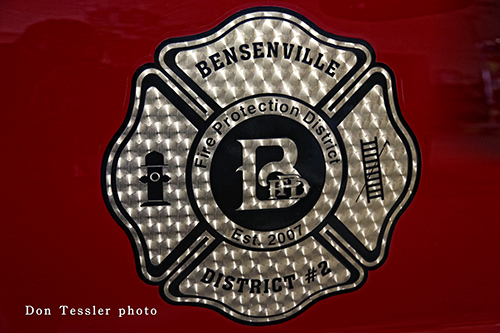 Bensenville Fire District seal