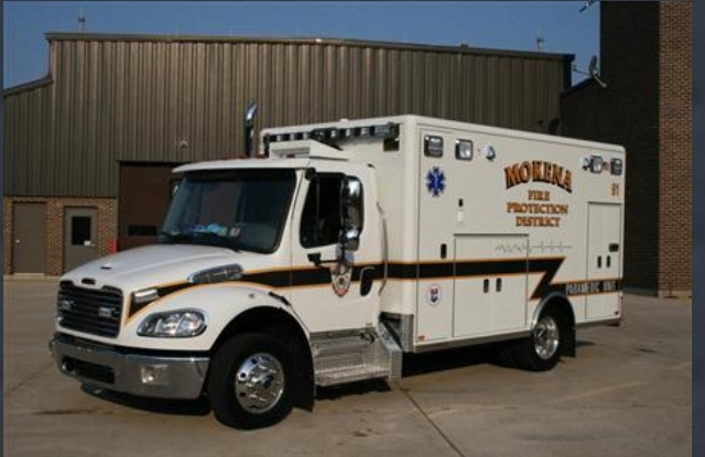 new ambulance for Mokena FPD