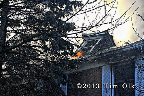 house fire in Highland Park IL