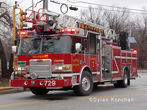 Frankfort Fire District quint