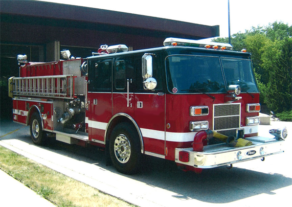 Downers Grove Fire Department fire engine for sale