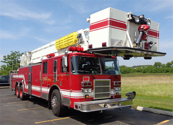 Addison Fire Department sells used truck