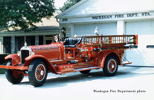 Waukegan Fire Department history