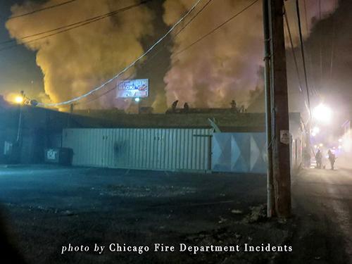Chicago Still & Box Alarm fire 12-2-13