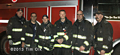 firemen from CHicago Squad 5