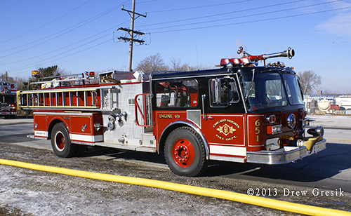 Chicago Heights Fire Department apparatus