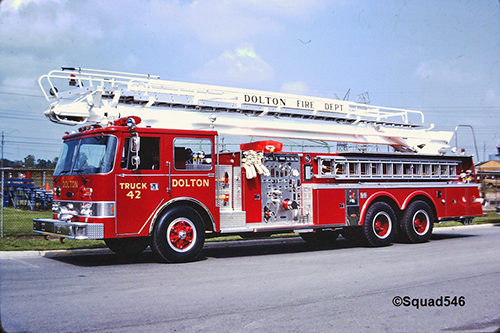 Dolton FIre Department history