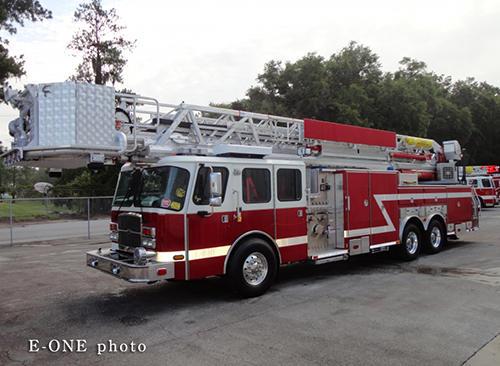 E-ONE low profile tower ladder