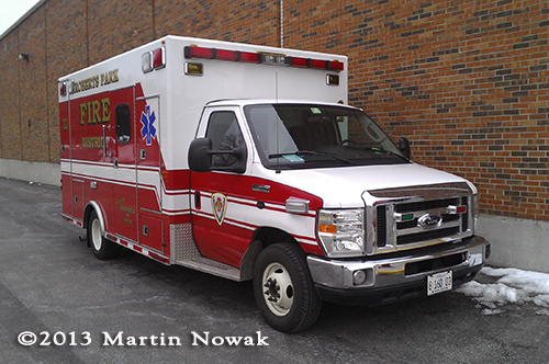 Roberts Park Fire District ambulance