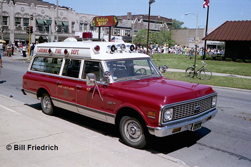 La Grange Fire Department history Type II ambulance