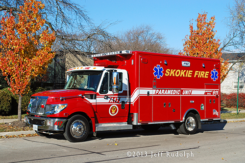 new Horton ambulance for the Skokie Fire Department