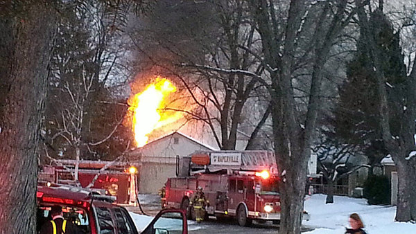 fatal house fire in Naperville IL