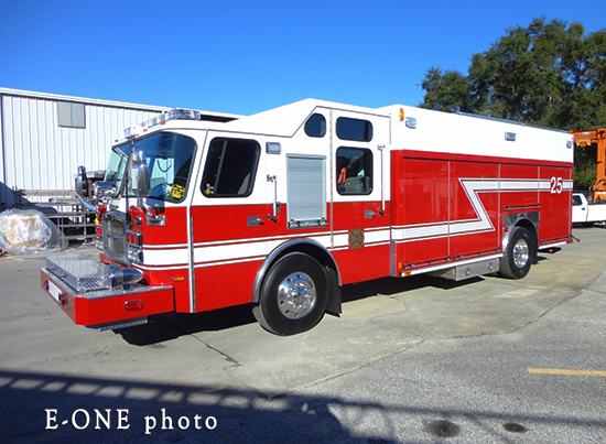 new fire truck for Westchester IL
