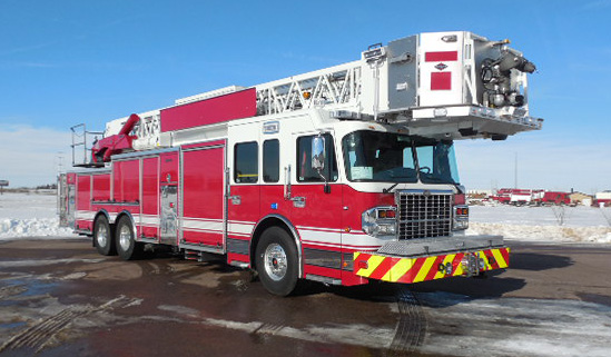 new fire truck for the Palatine Fire Department