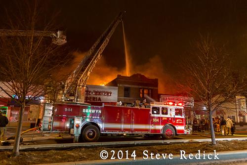 2-Alarm commercial fire in Berwyn 1-16-14