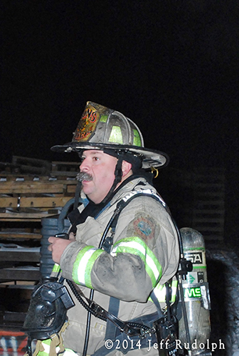Lyons Fire Chief Gordon J. Nord, Jr.
