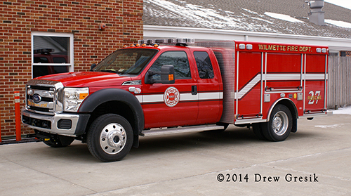 New rescue unit for the Wlmette Fire Department