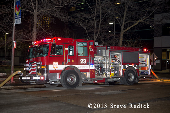 Evanston Fire Department Engine 23
