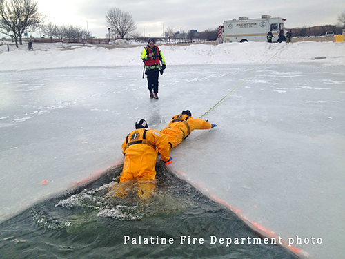 fire department ice rescue training