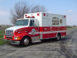 used ambulance bought by the Antioch FD
