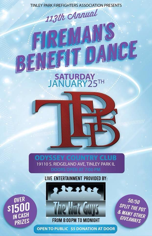 Tinley Park Fire Department Benefit Dance