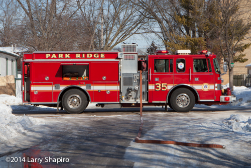 Pierce Saber fire engine