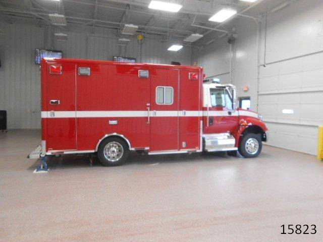 new Horton ambulance