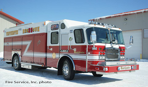 E-ONE heavy rescue squad