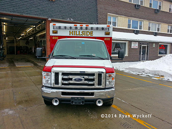 Ford E-450 chassis for ambulance